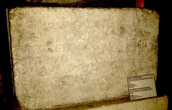 The Wall of Death: The Thanatos inscription
