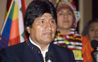 Evo Morales repeals the Penal Code