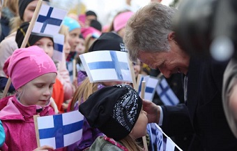 Sauli Niinisto, Finland's President for six more years
