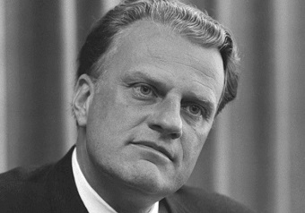 Billy Graham has died