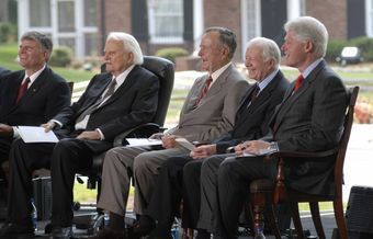 Political and religious leaders react to  Billy Graham's death