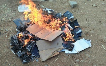 Bible burning in south India shows depth of hostility toward Christians