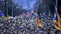 Demonstrations in Barcelona as more pro-independence politicians are jailed