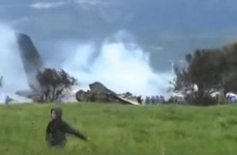 Military plane crash in Algeria: 257 dead
