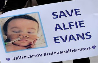 Alfie Evans' parents should not be stopped from doing what they believe is best for him