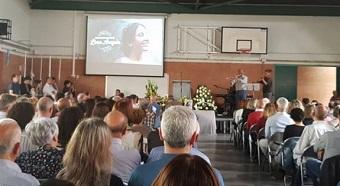 Hundreds honour the life of Christian medicine student Lluna Araguàs