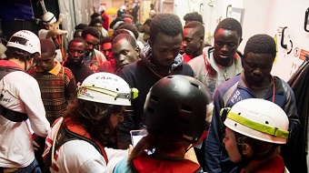 Spain accepts 'Aquaris' ship with 629 migrants on board