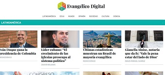 Latin American news website 'Evangélico Digital' launched