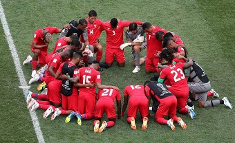 Panama players thank God despite World Cup elimination