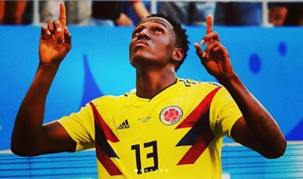 "Colombia players express trust in Jesus ""in victory and defeat"""
