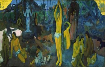 Gauguin's Blue