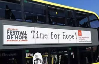 Franklin Graham's Festival of Hope ads banned in UK local buses