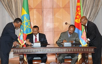 Historic Peace Agreement between Ethiopia and Eritrea