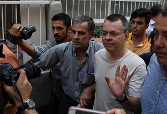 Pastor Andrew Brunson moved to house arrest