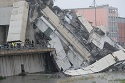 A motorway bridge in Genova collapses, many dead