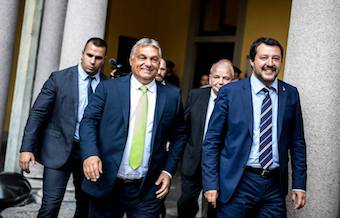 Italy and Hungary join to form an anti-migration alliance