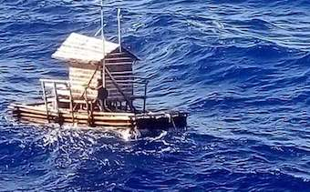 Prayer helps Indonesian teenager to survive 49 days adrift