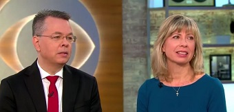 """Andrew Brunson: """"God was involved in this, millions of people prayed for Turkey"""""""