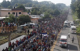 Christian organisation urges governments to protect Honduran migrants