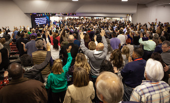 "Assemblies of God encouraged new generation of ""senders and goers"""