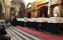 Hundreds grieve the seven Coptic Christians killed in Egypt bus attack