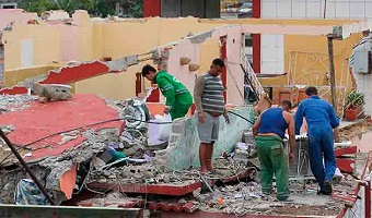 Cuban churches offer help after tornado