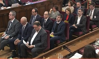 Catalan separatists' trial starts in Spain