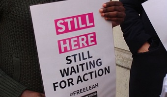 10,000 signatures ask for action to release Nigerian Christian Leah Sharibu