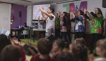 """Jasir's journey"": Gospel music brought to Spanish schools"