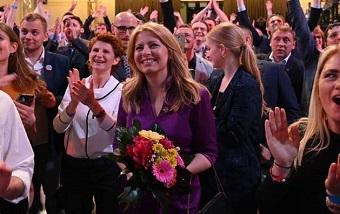 Anti-corruption activist Zuzana Caputova becomes Slovakia's President