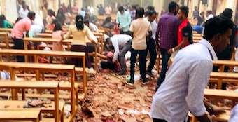 At least 290 killed in 8 bomb blasts in Sri Lanka