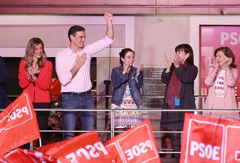 Social Democrat Pedro Sánchez wins Spanish election