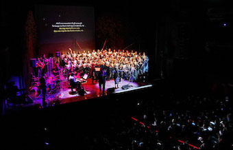 The Gospel Choir of Madrid awarded for its social work