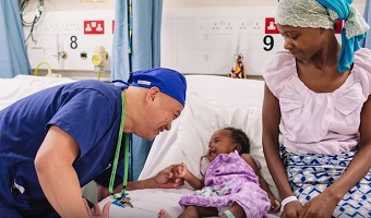 Mercy Ships volunteers perform 100,000th free surgical procedure