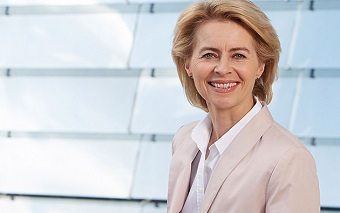 Ursula von der Leyen, new President of the European Commission