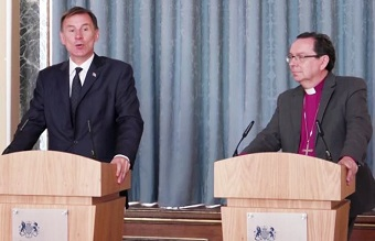 "Official report urges UK government to become ""global champion of religious freedom"""