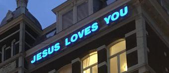 Jesus loves you?!