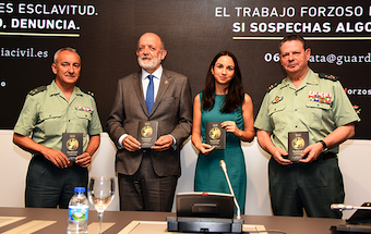 Spanish police and A21 launch campaign to fight human trafficking