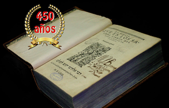 Puebla celebrates the 450 anniversary of the Bear Bible