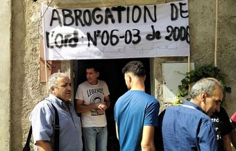 Algerian authorities seal a church shut after Christians prevented its closure