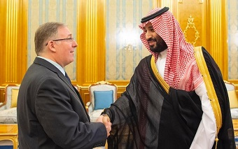 "Evangelical delegation praises ""progress"" after visiting Saudi Crown Prince"