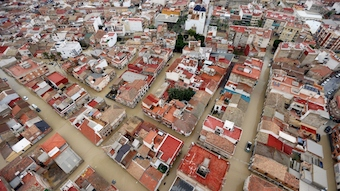 Evangelical churches affected by the floods in Spain