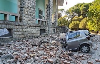 Albanians 'emotionally shaken' after earthquake
