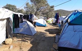 Lesbos: 12,000 quadruple the capacity of the Moria refugee camp