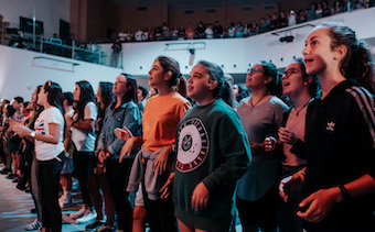 Madrid: 900 people strengthen their faith at Reboot