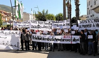 "Algerian Christians rally for ""freedom of worship without intimidation"""