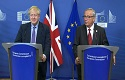 Juncker and Johnson announce a 'fair Brexit deal'