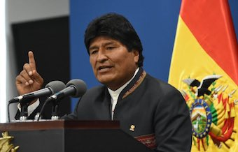 "Evo Morales leaves Bolivia as evangelical churches ""pray for a transition to bring political stability"""
