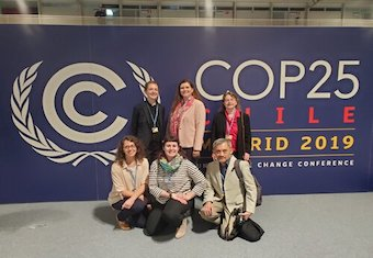 """""""We seek to be an active presence with a Christocentric focus on the COP25"""""""