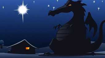 'There's a dragon in my nativity'